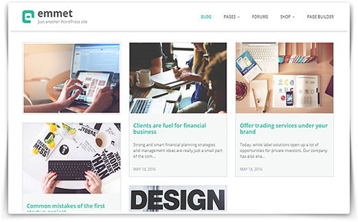 Emmet - Multipurpose WordPress Theme - MotoPress
