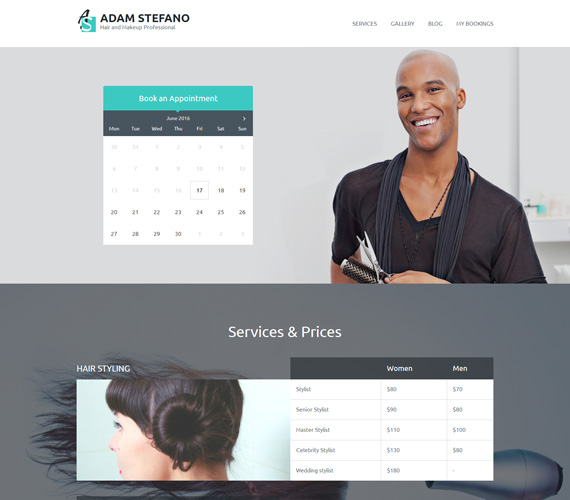 Entrepreneur theme for WordPress