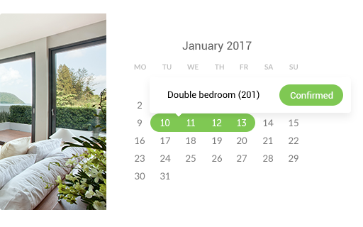 bookings calendar wordpress hotel booking plugin