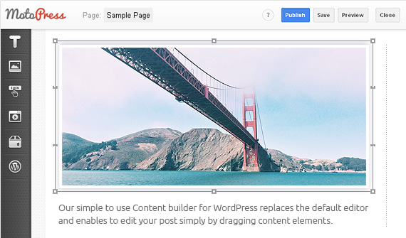 MotoPress Content Editor plugin for WordPress