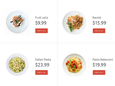 sell more with motopress restaurant menu