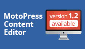 MotoPress Content Editor Updated Version 1.2