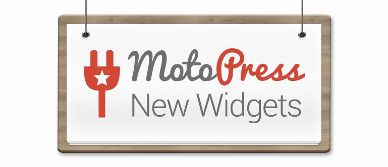 MotoPress Content Editor Widgets