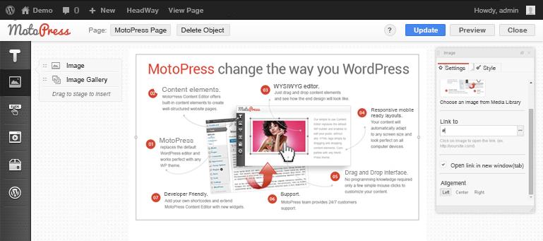 MotoPress built-in elements