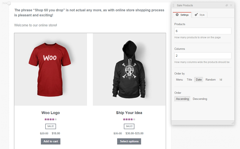 Add products to MotoPress WooCommerce integration