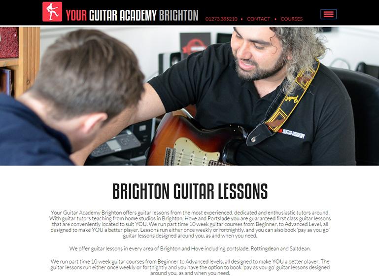 brington guitar academy