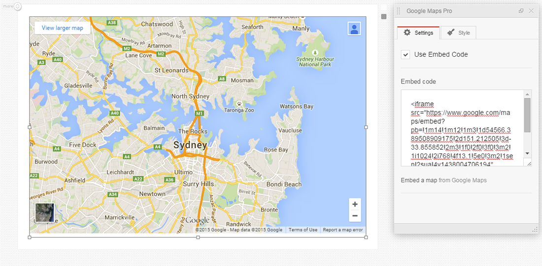 How to embed your own map with MotoPress