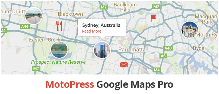 Google Maps Pro Addon for MotoPress Visual Builder