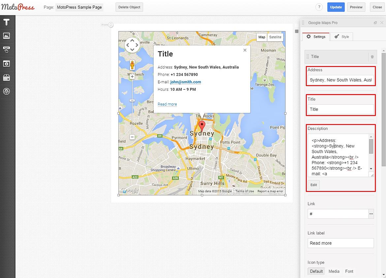 Google themes editor - Google Maps Edit