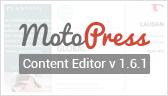 MotoPress Visual Builder Version 1.6.1 released