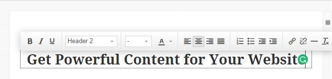 MotoPress Content Editor Heading