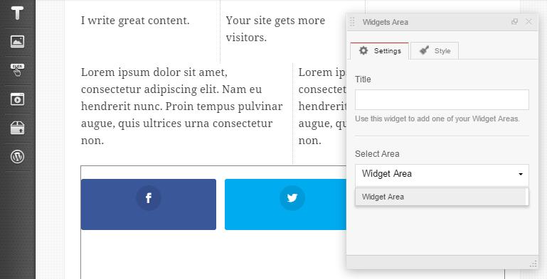 MotoPress Content Editor Social Widget
