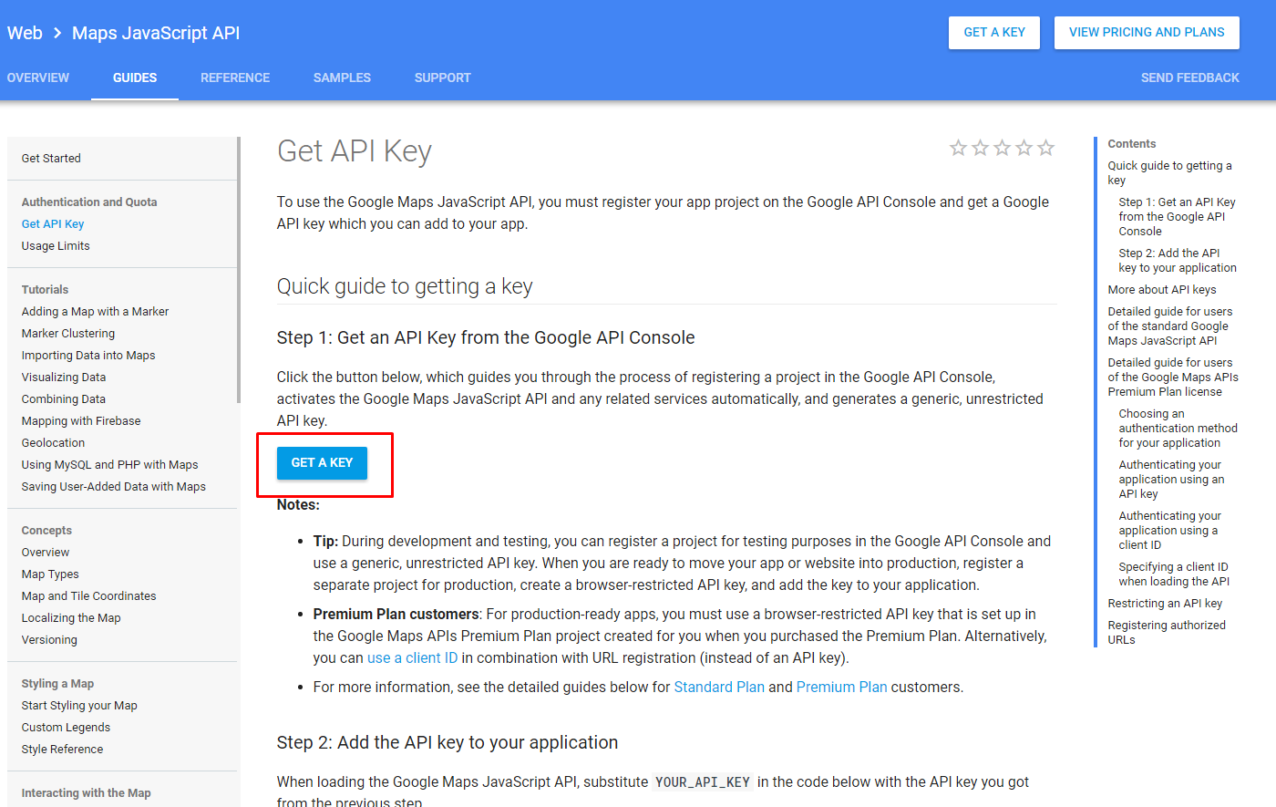 How to register API keys for Google Maps Addon - MotoPress Documentation