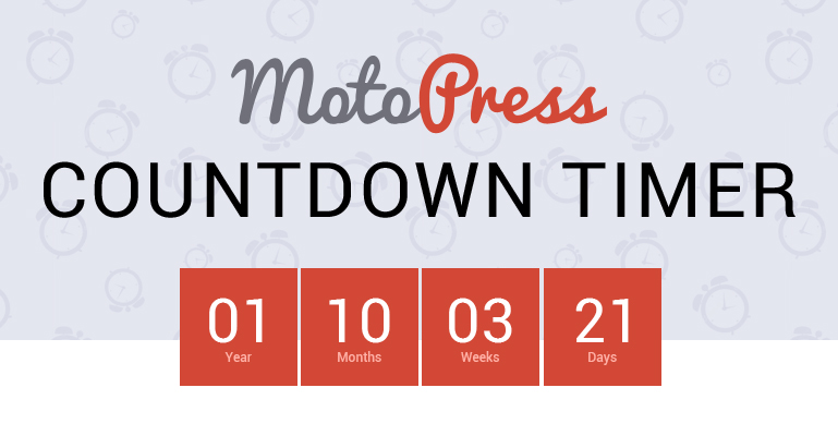 WordPress Countdown Addon