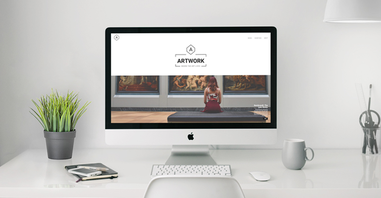 Artwork free WordPress theme