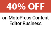 Limited Time Offer: MotoPress Content Editor Business with 40% Discount