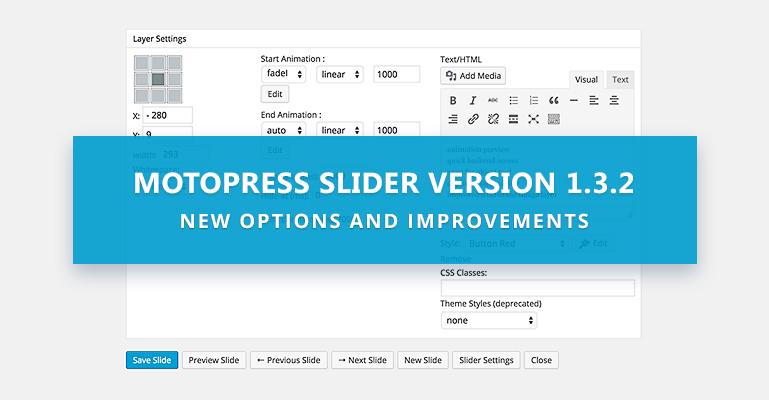 Responsive MotoPress Slider