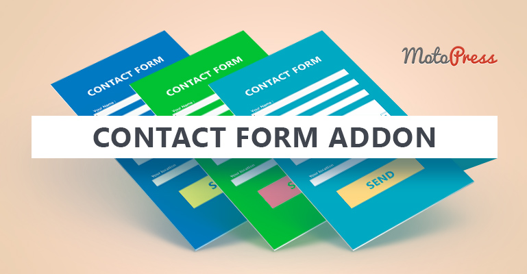 contact form addon for WordPress