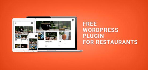 Free WordPress Plugin for Restaurant Menu
