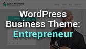 Meet Entrepreneur: Best WordPress Theme for Small Business