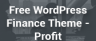 Get Free WordPress Finance Theme: Profit Lite