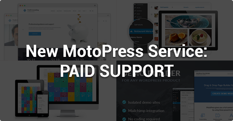 MotoPress Paid Support