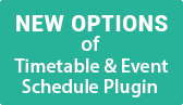 Free Timetable & Event Schedule Plugin Version 2.0.0: Major Improvements