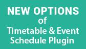 Free Timetable & Event Schedule Plugin Version 2.0.0: Major Improvements