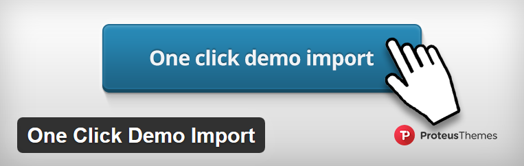how to insal demo data wordpress