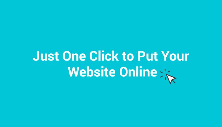 Instant Website Installation