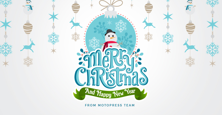 Happy Holidays from MotoPress