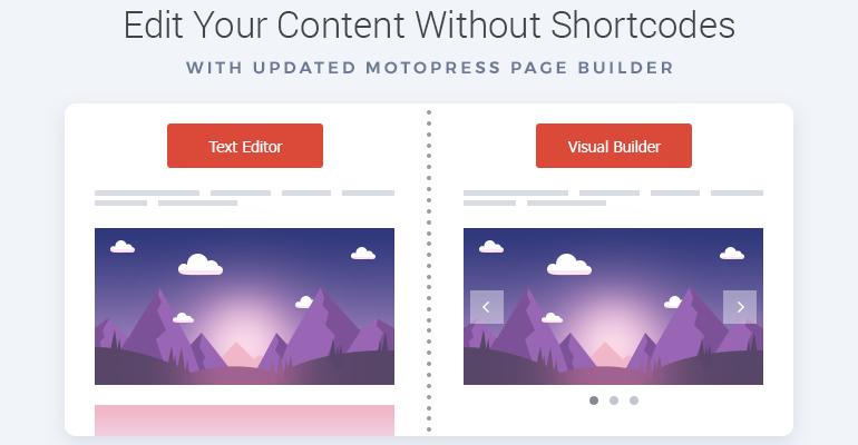 visual builder for wordpress