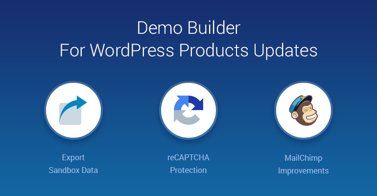 demo builder wordpress
