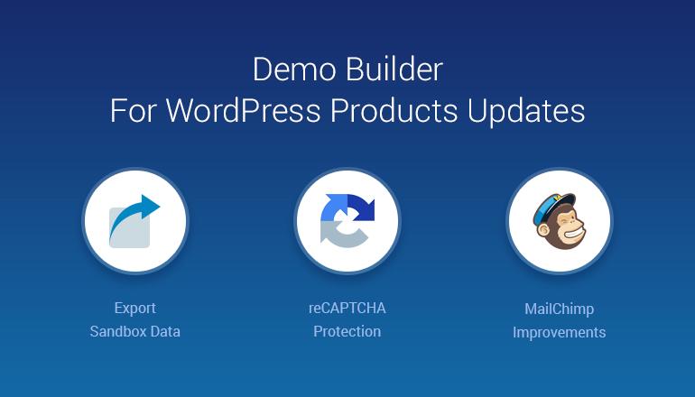 demo builder wordpress