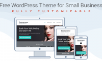 Free WordPress Theme for Entrepreneurs – Build Website in a Few Steps