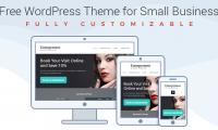 Free WordPress Theme for Entrepreneurs – Build Website in a Few Steps