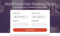 New WordPress Hotel Booking Plugin to Drive Online Guest Reservations