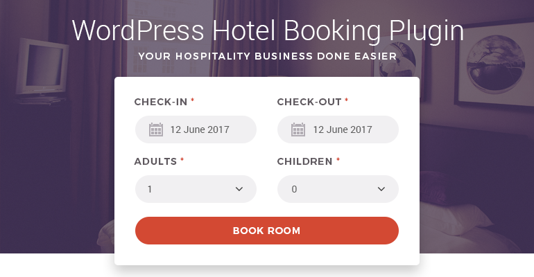 wordpress hotel booking