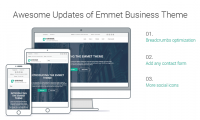 Emmet WordPress Theme Updated: More Options, Better Business