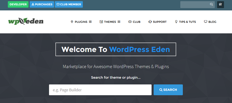 sell your wordpress theme marketplace