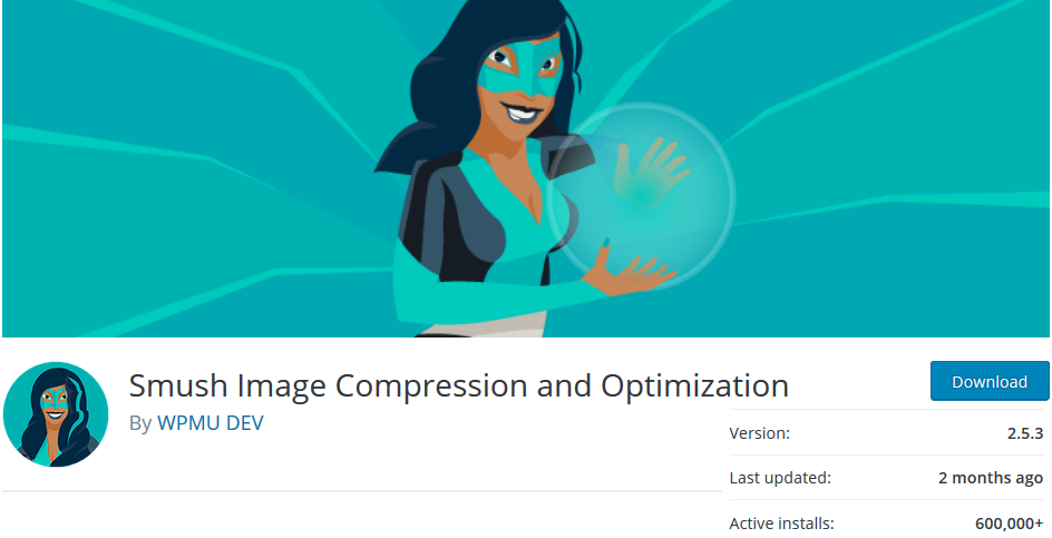 smuch image optimization for wordpress