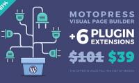 61% Off on MotoPress Visual Builder + 6 Plugin Extensions!