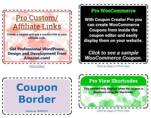 comparison of free wordpress coupon plugins