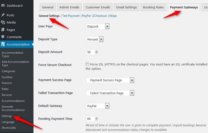 wordpress hotel booking plugin for wordpress