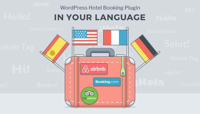 wordpress hotel booking translation ready