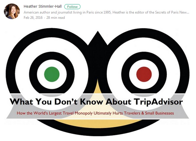 how tripadvisor hurts small business