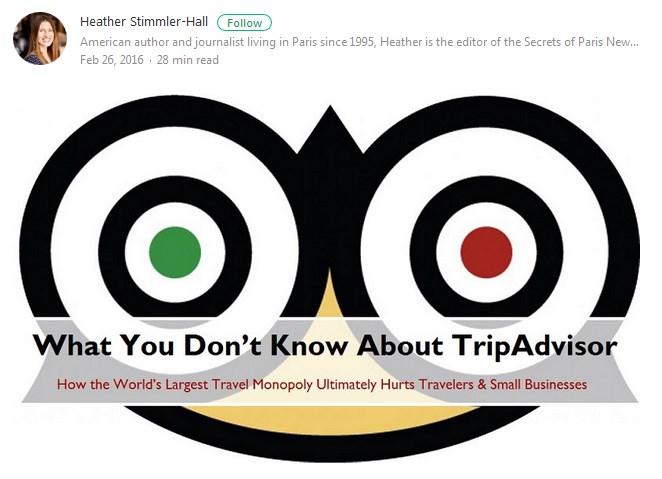 how tripadvisor hurts small business