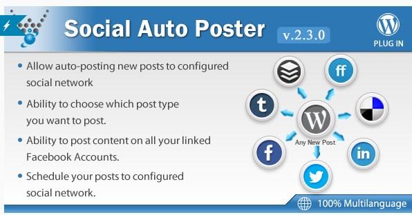 wordpress social aito poster