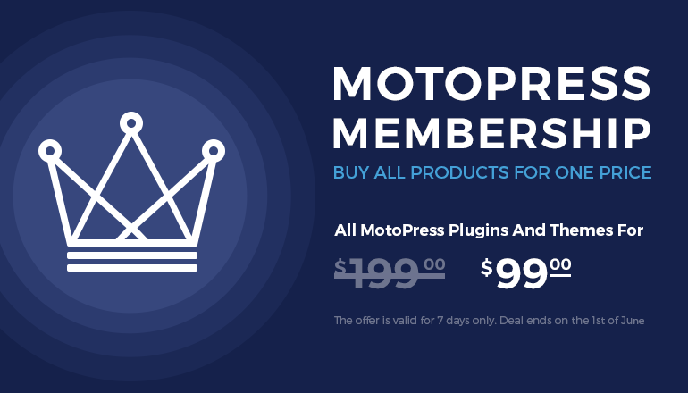 MotoPress Membership: WordPress Plugins and Themes for Low Price