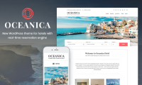 Meet Oceanica – One-stop WordPress Theme for Hospitality Business
